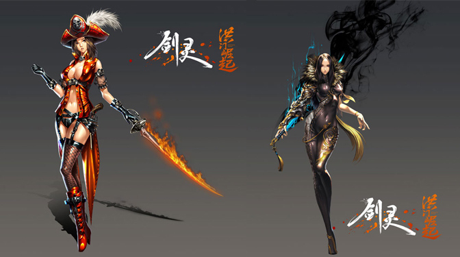 Blade et Soul : Hongmoon Rising présenté par NCsoft et Tencent - mmorpg